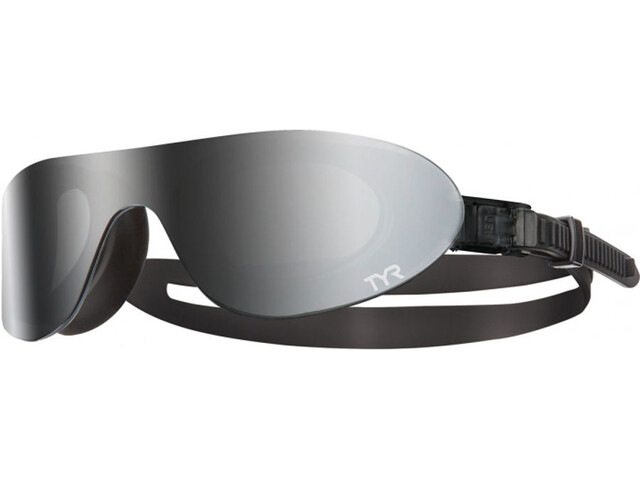 TYR Swimshades Mirrored Lunettes de protection, silver/black/black